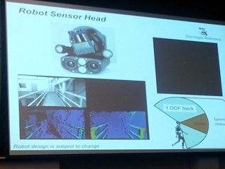 Slide from Kickoff Meeting on Robot Sensor Head